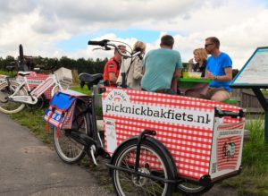 Picknicken in de polder