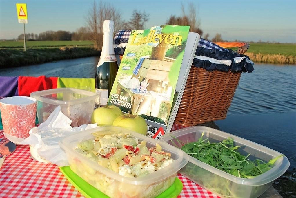 picknicken met luxe tapas in de natuur