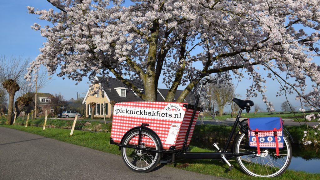 Lenteuitje met de Picknickbakfiets