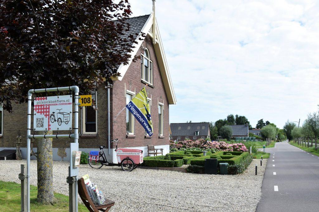 De mooie vertrek picknick locatie van Picknickbakfiets.nl